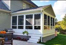 Idea Gallery- Three Season Porch / This is a Custom built Three Season Porch we built in Franklin Ma.