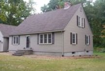 Idea Gallery- CertainTeed Cedar Impressions Siding / This is a project Jancon Exteriors completed in Millbury Ma. We installed CertainTeed Cedar Impressions siding in Natural Clay with Wicker Trim. The back and sides were installed with CertainTeed Vinyl Lap siding in Natural Clay.