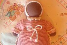 Tejiendo con Lanas / Muñecos, juguetes, ideas tejidas con punto o ganchillo
