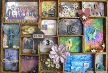 shadowbox, printer's tray and jar ... / All about shadowboxes, printer's trays, dioramas and beautiful jars ...