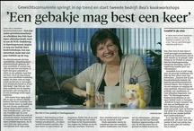Interviews / Bea Pols is vanaf 1997 werkzaam als gewichtsconsulente. Ze heeft in de loop der jaren vele interviews gehad.