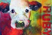 Paula Jones Fine Art- Animals