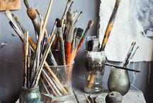 Paula Jones Fine Art- Studio