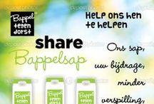 Bappel / Ontwerp van naam, logo, slogan, campagne en website.