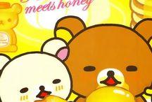 Bear stuff / I love teddy bears and most i like Rilakkuma and his little white bear friend