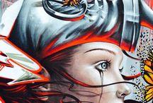 graffiti/street art / Dark Global Graffiti