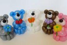 Balloon sculptures / twisting // Фигуры из шаров, твистинг / Balloon twisting sculptures. Мои фигурки из шариков, твистинг.