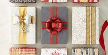 Gift Wrap Wonderland / Taking cues from Mother Nature, Holiday Warmth keeps you cozy with handmade gifts and original wrap patterns drawing from the great outdoors.