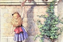 Alice's adventures in Wonderland / Alice's adventures in wonderland is my favorite book, cuz its so nuts and grazy. Also really intresting and beautiful u know