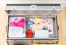 Summer Camp / Send them off to summer camp with a trunk or suitcase packed full of love - and organization!