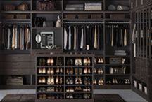 TCS Closets: Ebony / TCS Closets is the ultimate custom closet experience you've been waiting for! Whether you choose a walk-in closet design or want something more elaborate, each solution is custom built from the floor up to fit your space and showcase your wardrobe - exclusively for you - and only at The Container Store. / by The Container Store