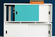 """Turquoise Story / Whether it's pops of turquoise, or turquoise from head-to-toe, this bright color is """"in"""" this season, and we're ready to help you stock-up! / by The Container Store"""