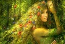 LA LEYENDA CELTA DE LAS PLANTAS DEL AMOR / Desde muy niña oí decir que a las plantas y a los árboles los protegen entidades enviadas de los Dioses y que cada uno de ellos tiene bajo su tutela, otorgándoles valores muy especiales, plantas y árboles determinados.