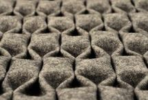 Textile Innovations / Textiles for fashion, product and architectural spaces. New materials that push the boundaries and textiles that transform traditional processes into high tech surfaces and structures.