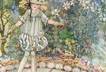 Illust: Fairy&Folk tales or Vintage