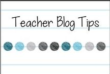 Teacher Blog Tips! / Tips and tutorials for bloggers!