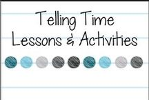 Time Lessons & Activities