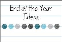 End of the Year Ideas