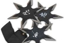 Ninja Throwing Stars and Shuriken / Shuriken, Batarangs, Throwing Cards, Naruto, Star Sets and more!
