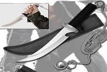 Ninja Weapons / Manriki Chains, Tantos, Daggers, Kubatons, Kama, & more!