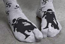 Ninja Footwear / Tabi Socks, Tabi Shoes, Tabi Boots, Tabi Slippers!  I was sensing a pattern until we added the stilettos.