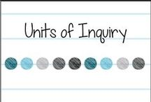 Units of Inquiry / Ideas for learning activities for units of inquiry & PYP