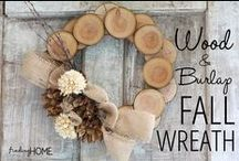 Fall Projects / Enjoy decorating for fall with these inspiriting pins!