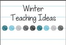 Winter Teaching Ideas / Teaching ideas for the primary classroom for winter holidays, December, January, February