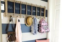 Mud and Laundry Rooms / Ideas for keeping these spaces cute and clutter-free!
