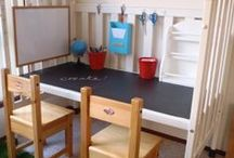 Kid Spaces / DIY inspiration for projects to do for the little ones in your life!