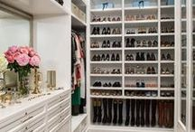 Closets / Pictures we drool over.  The ultimate in organization and beautification.