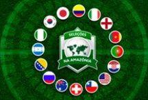 Infográficos da Copa do Mundo na Amazônia / Infográficos com as seleções que jogam na Arena da Amazônia e Arena Pantanal, em Manaus e Cuiabá, respectivamente.