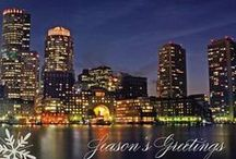 Boston Holiday Cards / Holiday Greeting Cards with stunning images of our city