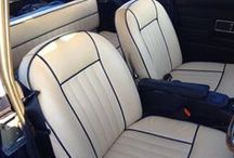 Motor Upholstery / Ideas and examples of upholstery for 2 and 4 wheeled machines.