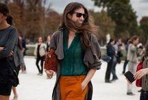 Fall Trend: Orange and Emerald