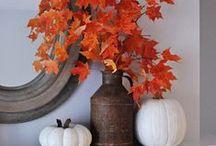Thanksgiving / Decoration ideas to celebrate thanksgiving  des idées sympa pour une déco Thanksgiving