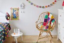Kids bedroom - Chambre enfants / great ideas for kids bedroom des idées sympa pour une chambre d'enfant