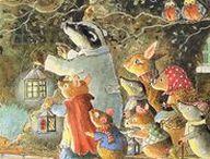 Illust: Animals world / Beatrix Potter, Jill Barklem, Susan Wheeler, J. J. Grandville...and other animal illustrations.