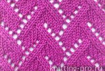 modele de tricotat / diagrame