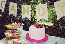 Engagement Party - Fête de fiancailles / decorating and food ideas for an engagement party idées de déco et de repas pour une fête de fiancailles