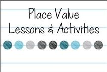 Place Value / Ideas for teaching place value