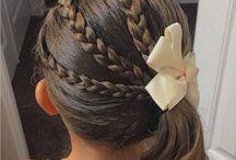 Selah's hair
