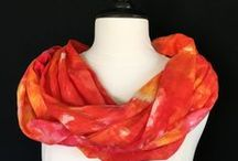 Scarves and Scarf Techniques / Beautiful Scarves and Scarf Ideas