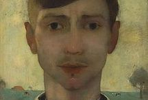 Artist: Jan Mankes / Jan Mankes (15 August 1889, Meppel, Drenthe – 23 April 1920, Eerbeek) was a Dutch painter. He produced around 200 paintings, 100 drawings and 50 prints before dying of tuberculosis at the age of 30. His restrained, detailed work ranged from self-portraits to landscapes and studies of birds and animals. (-wiki)
