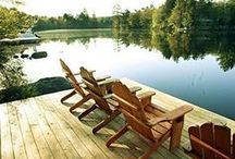 ~ Cabin Life...In the Woods & on the Lake ~ / (Please pin respectfully) / by Judy Shoup