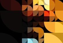 geometric backgrounds by LoCarmen