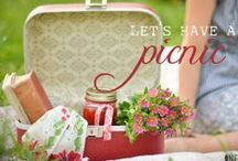 ~ It's Picnic Time Again...summer is almost here! ~ / (Please pin respectfully) / by Judy Shoup