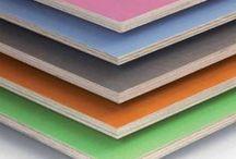 Materialen der RegalTischlerei / Unsere Materialwand zeigt, woraus unsere Möbel gebaut werden können.