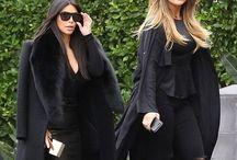 Kardashian/Jenner Style / The beautiful style showcased by Kourtney, Kim & Khloe Kardashian and Kendall & Kylie Jenner.