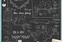 Doodles, Drawings & Handlettering